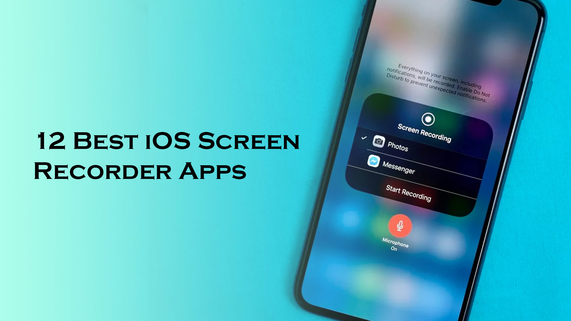 12 Best iOS Screen Recorder Apps to Record your iPhone and iPad