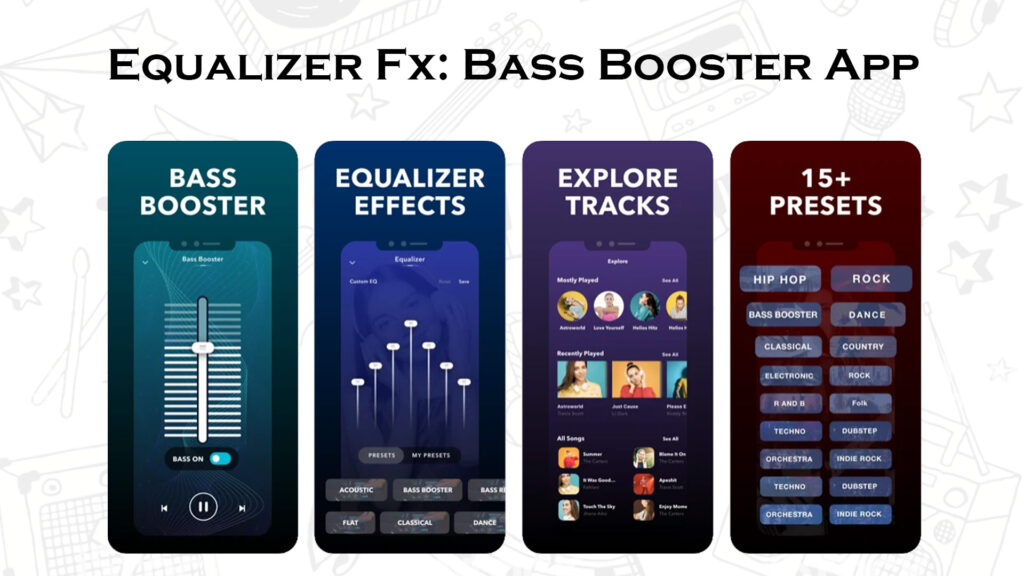Equalizer Fx: Bass Booster App to make iPhone louder