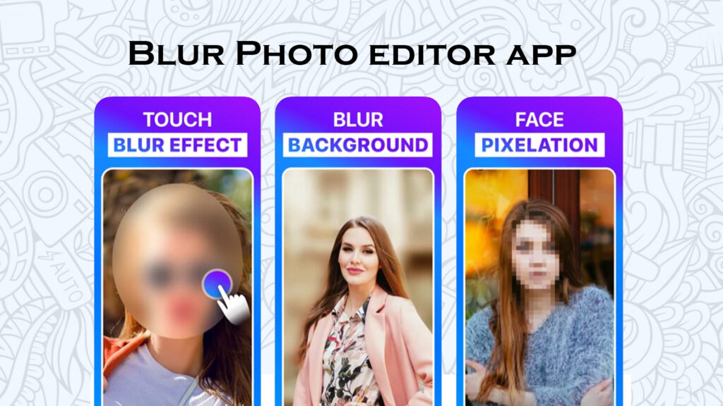 blur photo editor app for iphone and ipad