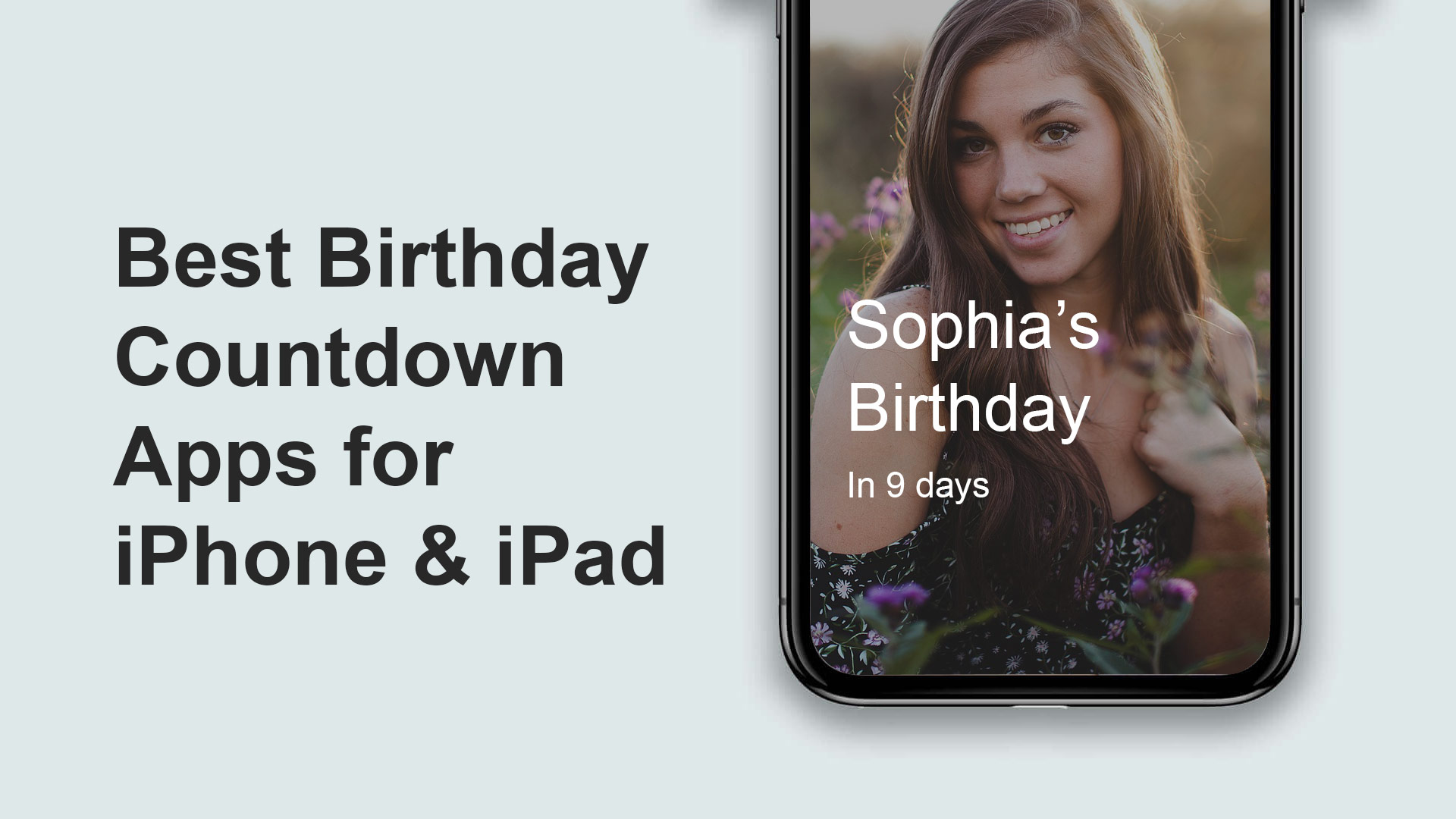 birthday countdown app for iphone